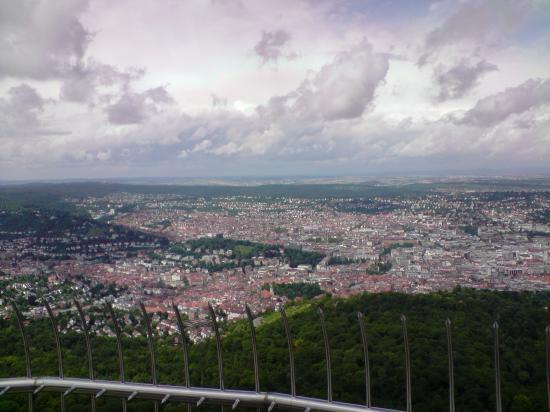 Vue de la Fernsehturm de Stuttgart