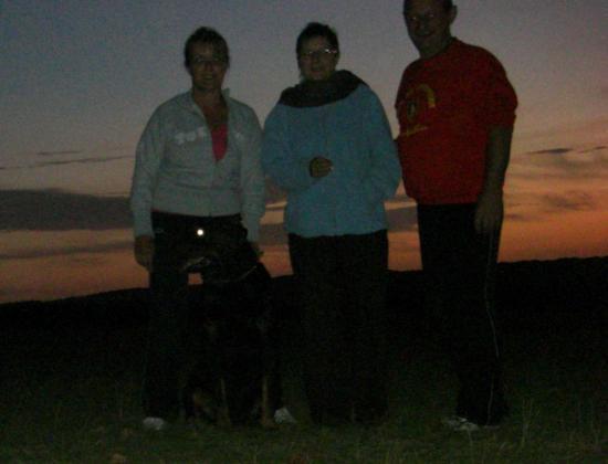 Regina, Patricia et Christia à Sainte Anne