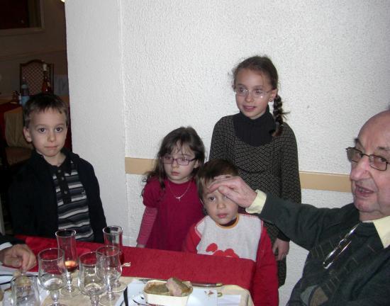 Papa et Felix Enola Lola Eliot