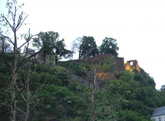 Château vue du quai