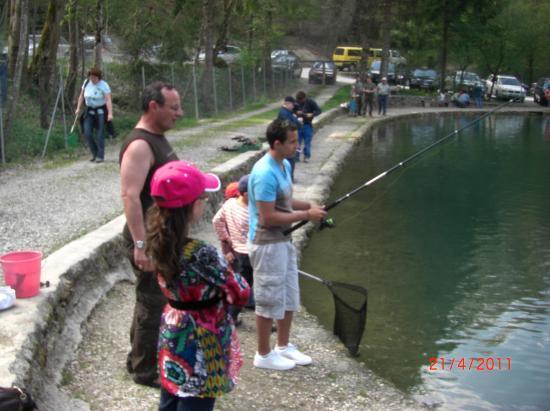 Chacun pêche sa truite