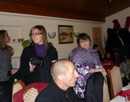 Pascal Chantal Amandine et Andréa